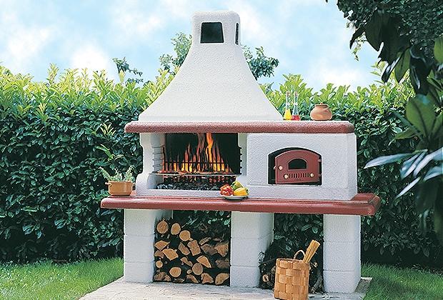 Forni in muratura per esterni mm73 regardsdefemmes - Barbecue e forno in muratura da giardino ...